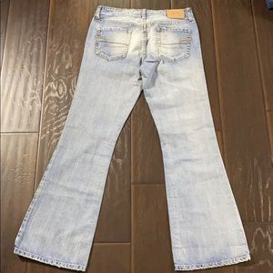 American Eagle Hipster Bootcut Jeans sz 8